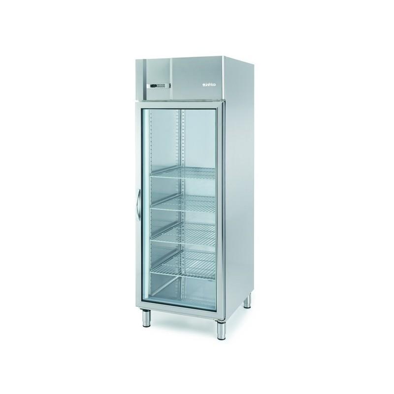 Armario expositor refrigeración 610L AGB 701 CR Gastronorm 2/1