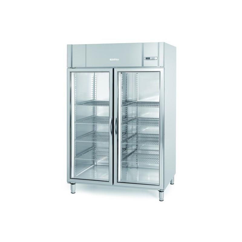 Armario expositor refrigeración 1340L AGB 1402 CR Gastronorm 2/1