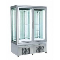 Armario expositor congelación 840L LO 7703 para heladería