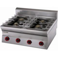 Cocina a gas con 4 fuegos- Modelo SLE-8G