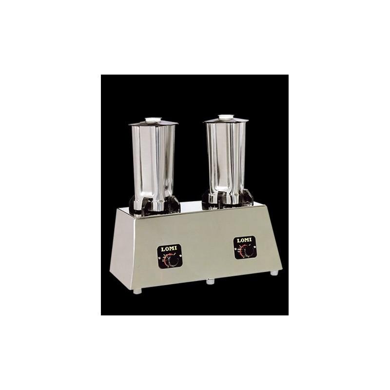 Mezclador Triturador doble vasos acero inox- Modelo ref. 4A0000