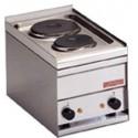 Cocina snack sobre-mostrador monofásica con 2 fuegos- Modelo PC-1EM-