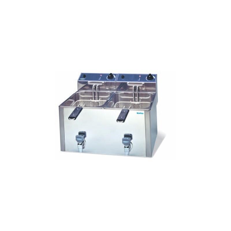 Freidora eléctrica de 8+8 litros- Modelo FR 88LG-
