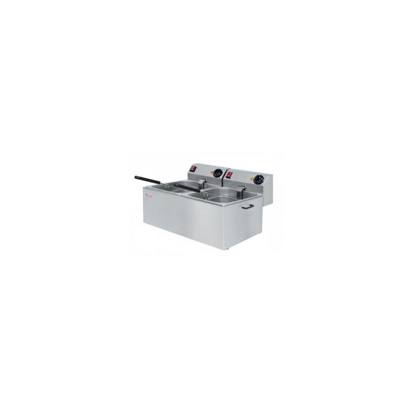 Freidora eléctrica de 6+6 litros- Modelo FA6+6-