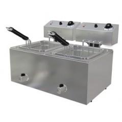 Freidora eléctrica de 8+8 litros- Modelo FA9+9-