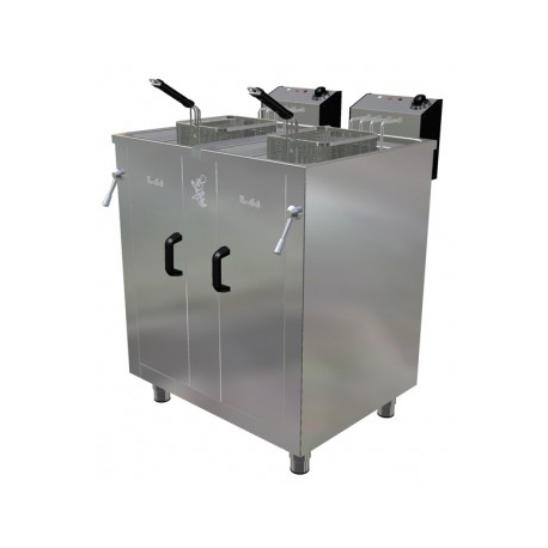 Freidora eléctrica de 17+17 litros- Modelo FAH 17+17-