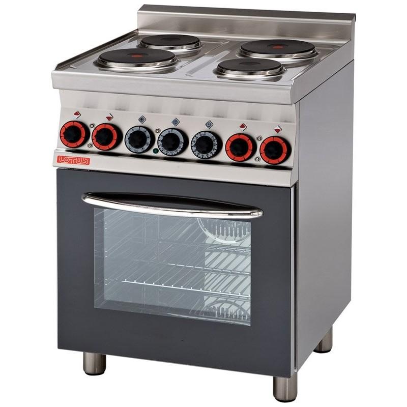 Cocina eléctrica c/horno y Grill. Sobre vitrocerámico- Mod CFMC4-66ET-