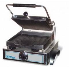 Grill eléctrico 2 placas  acanaladas- Modelo GR-42