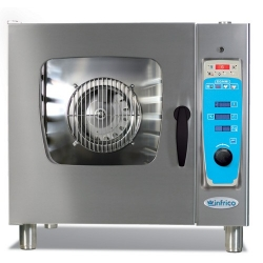 Horno eléctrico mixto con boiler 10 bandejas en acero inox- Modelo MXB 10 ES-