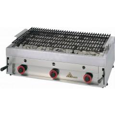 Parrilla-Grill de carbón volcánico incombustible y refractorio- Modelo PBI 30