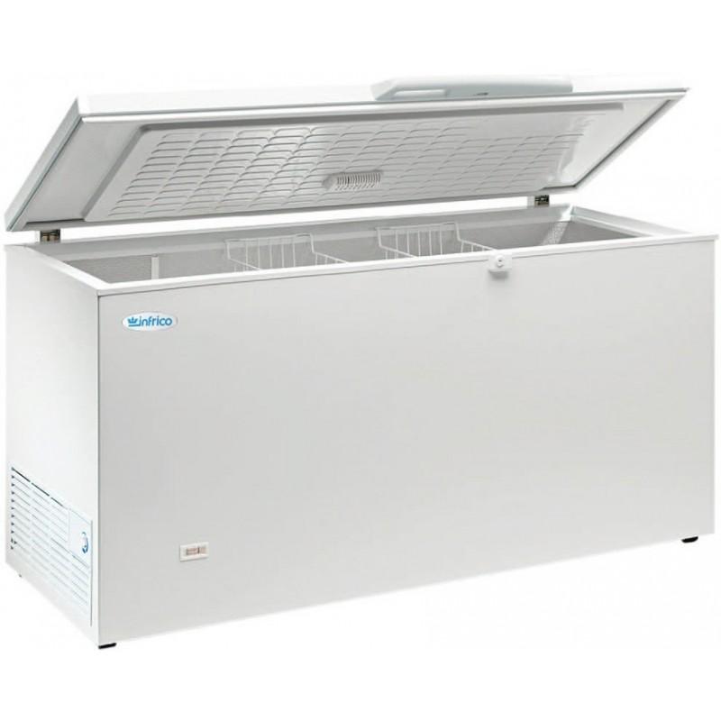 Congelador de tapa abatible modelo HF con cuba interior de aluminio