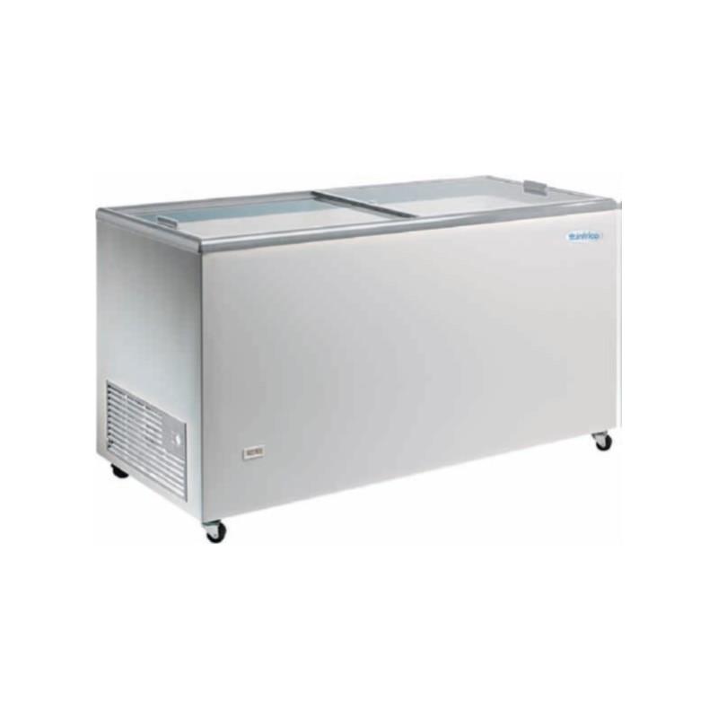 Arcón Congelador Puerta de Cristal Corredera - Modelo HF