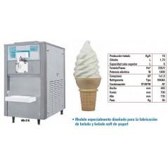 Máquina de helado soft y yogurt. Modelo MS-218