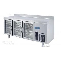 Mesa refrigerada Gastronorm con puertas de cristal GN1/1 serie 700 BMGN CR