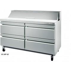 Mesa undercounter refrigeración para ensaladas serie UC