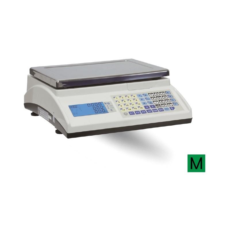 Balanza Modelo MARTE 10 V4 IC mostrador con batería de bajo consumo