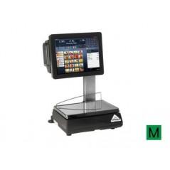 Balanza Modelo SCALEPOS 20 I PC táctil sobremostrador con impresora.