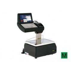 Balanza PC sobremostrador con impresora y etiquetadora. Modelo KSCALE 20 RLI Impresora y etiquetadora.
