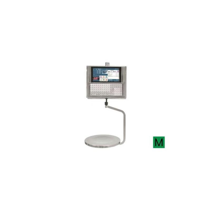 Balanza PC Colgante con impresora y etiquetadora. Modelo KSCALE 22 RLI Impresora y etiquetadora