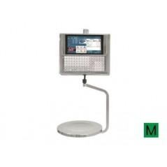 Balanza Modelo KSCALE 22 RL Etiquetadora PC colgada con etiquetadora.