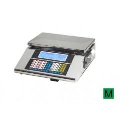 Balanza sobremostrador con impresora modelo URANO 10 V8