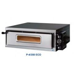 Horno de pizza eléctrico serie ECO de una cámara P-4