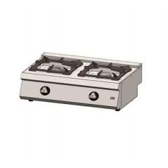 Cocina a gas 2 fuegos 550 sobremesa C2F550S