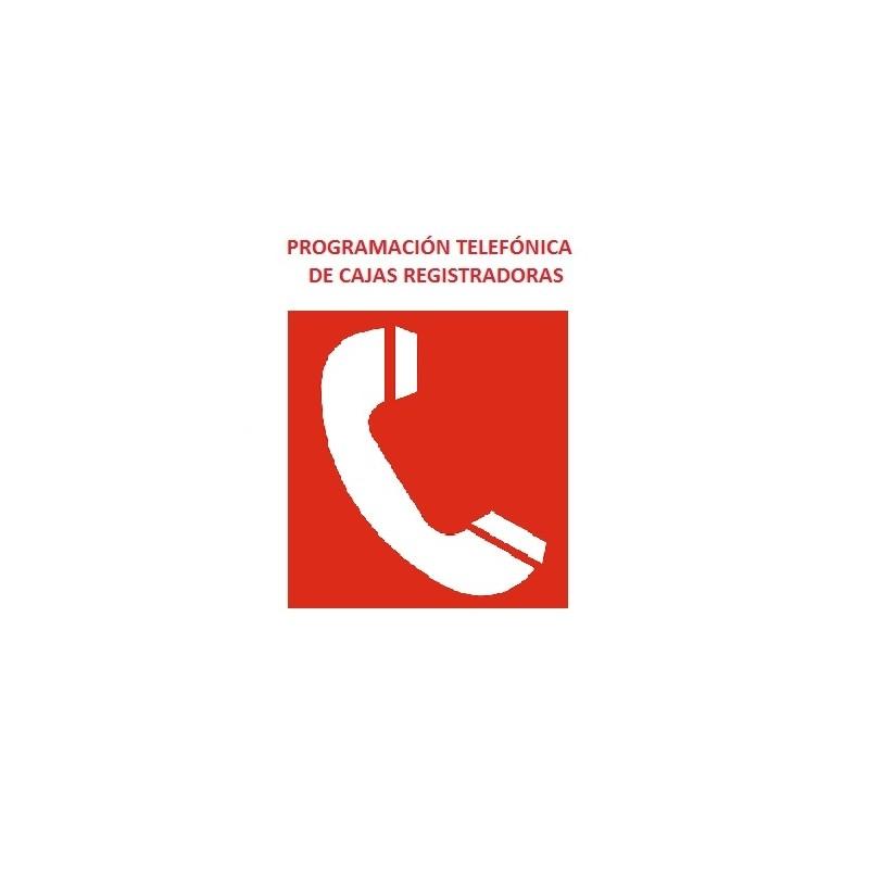 Programación telefónica de cajas registradoras