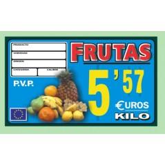 Portaprecios GALICIA frutas