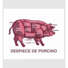 Despiece GLASPACK porcino
