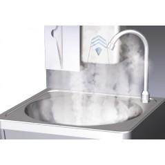 Agua caliente para lavamanos autónomo