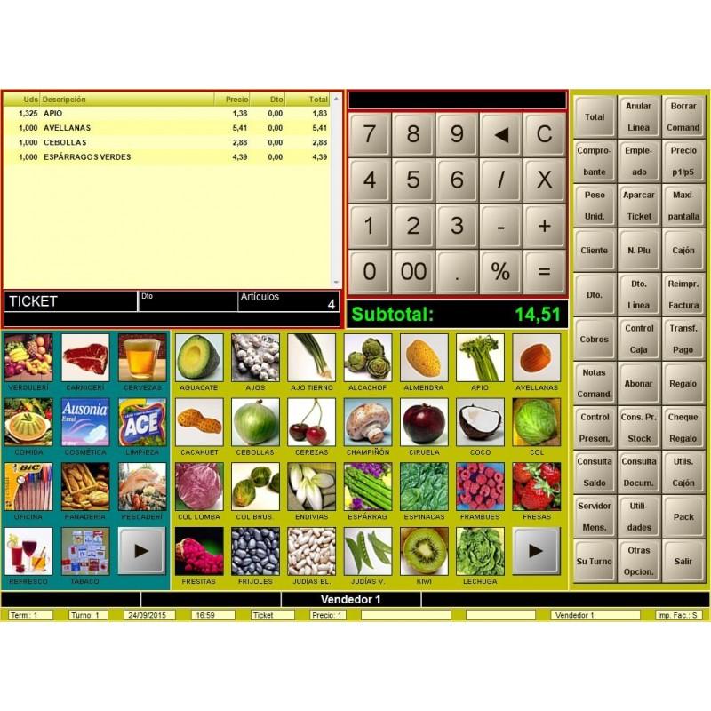 Software TPV BDP para Comercio