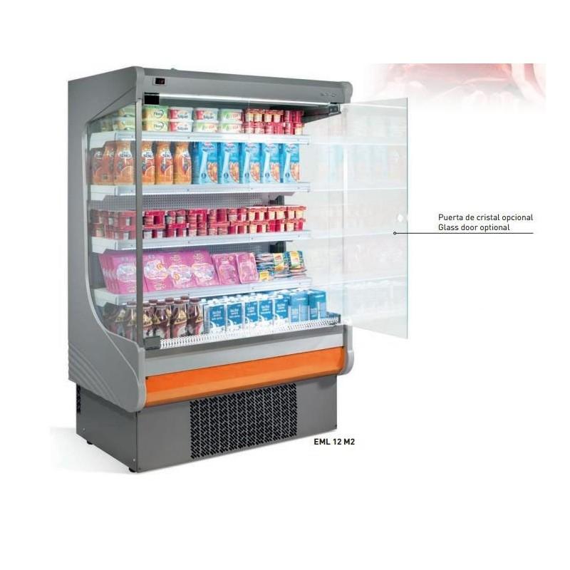 Vitrina mural expositora refrigerada modular serie EML M2