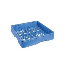 Cesta de plástico para Platos 400x400x150 mm.