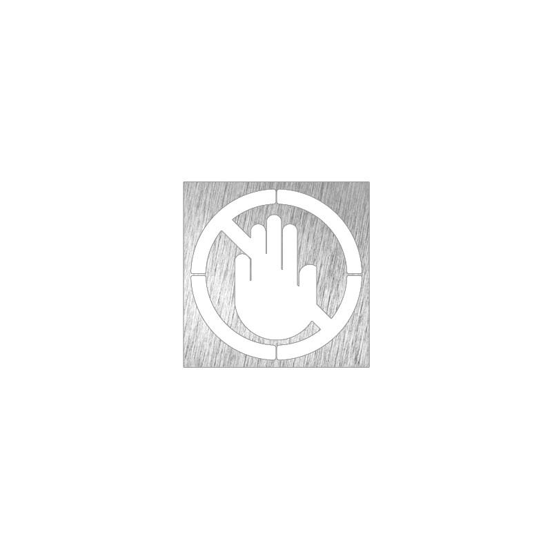 Pictograma prohibido el paso - Modelo 082622