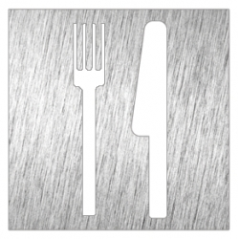 Pictograma restaurante - Modelo 082630