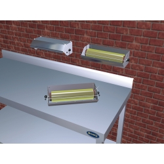 Dispensador de papel de bobinas para envolver