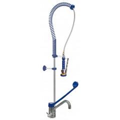 Grifo ducha sobremesa dos aguas monomando codo. Modelo 463062