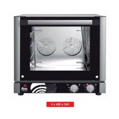 Horno panadería 4 bandejas de 480x340 mm de FM