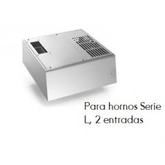 Serie L: (2 entradas) campana de condensación de vapor