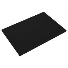 Fibra de corte negra 15 mm de grosor