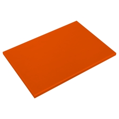 Fibra de corte naranja 30 mm de grosor