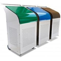 Contenedor profesional para reciclado