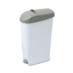 Contenedor higiénico sanitario con apertura a pedal