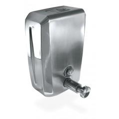Dosificador de jabón inoxidable con pulsador