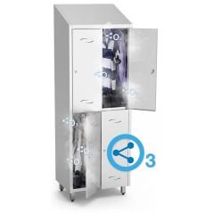 Kit de ozono acoplado a taquilla o armario
