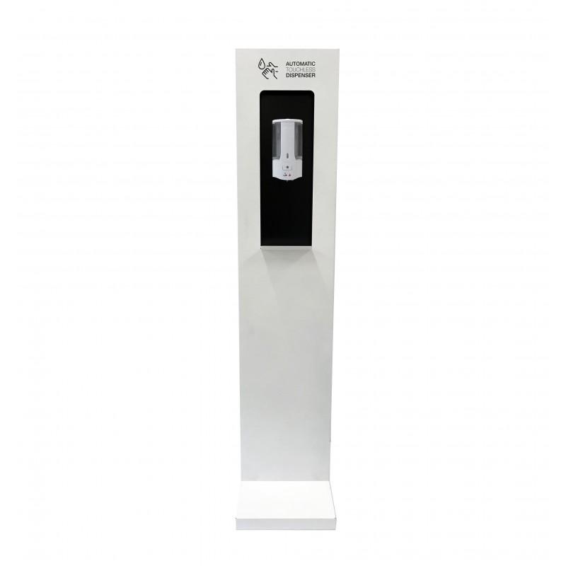 Dispensador de gel automatico en totem personalizable