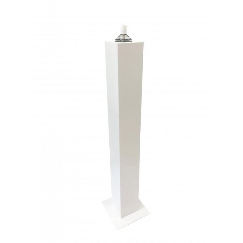 Columna para bote de gel hidroalcoholico