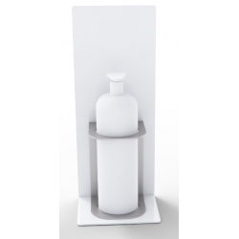 Soporte para botella de gel hidroalcoholico personalizable