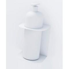 Soporte para botella de gel hidroalcohólico en pared